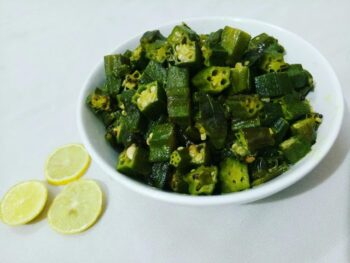 Bhindi Ki Sabzi - Plattershare - Recipes, Food Stories And Food Enthusiasts
