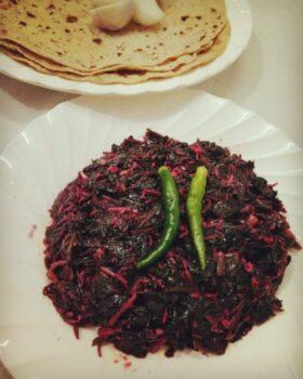 Chaulai Ki Sabzi - Plattershare - Recipes, Food Stories And Food Enthusiasts