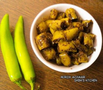 Mirch Ka Achar - Plattershare - Recipes, Food Stories And Food Enthusiasts