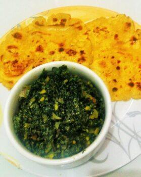 Sarson Ka Saag - Plattershare - Recipes, Food Stories And Food Enthusiasts