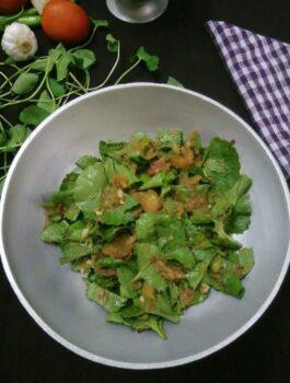 Brahmi Leaves Chutney - Plattershare - Recipes, Food Stories And Food Enthusiasts