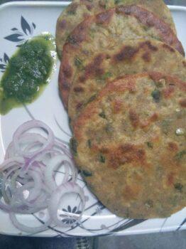Methi Mathi Mini Parathas - Plattershare - Recipes, Food Stories And Food Enthusiasts