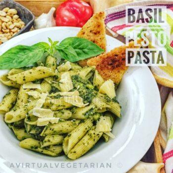 Desi Pesto Pasta - Plattershare - Recipes, Food Stories And Food Enthusiasts
