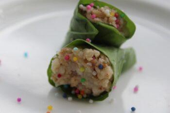Beetle Leaves Sandesh - Plattershare - Recipes, Food Stories And Food Enthusiasts