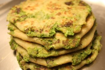 Broccoli Paratha - Plattershare - Recipes, Food Stories And Food Enthusiasts