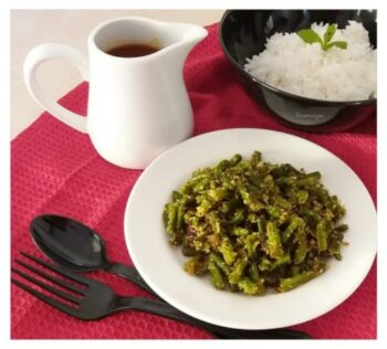 Beans &Amp; Coconut Fry - Plattershare - Recipes, Food Stories And Food Enthusiasts