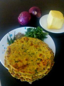 Punjabi Methi Ki Missi Roti - Plattershare - Recipes, Food Stories And Food Enthusiasts