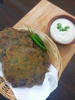 Bajra Methi Na Dhebra - Plattershare - Recipes, Food Stories And Food Enthusiasts