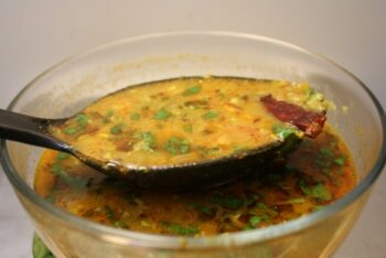 Whole Green Toor Amti - Plattershare - Recipes, Food Stories And Food Enthusiasts
