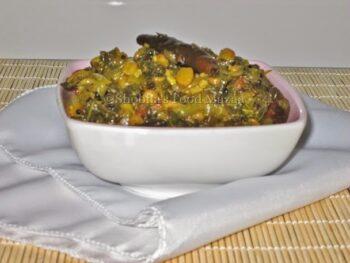 Amaranth Leaves Sabzi / Chauli Ki Sabzi - Plattershare - Recipes, Food Stories And Food Enthusiasts