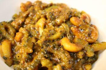 Kaju Karela - Plattershare - Recipes, Food Stories And Food Enthusiasts