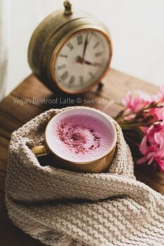 Pink Latte ( Vegan Beetroot Latte ) - Plattershare - Recipes, Food Stories And Food Enthusiasts