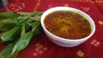 Lasooni Palak Dal - Plattershare - Recipes, Food Stories And Food Enthusiasts