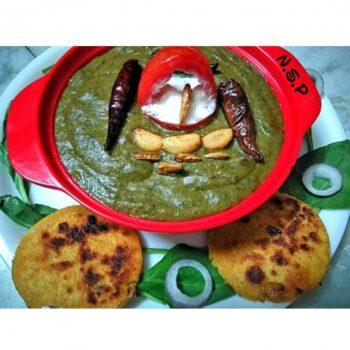 Sadabahar Sag - Plattershare - Recipes, Food Stories And Food Enthusiasts