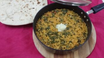 Dal Maat (Amaranthus And Red Lentils) - Plattershare - Recipes, Food Stories And Food Enthusiasts