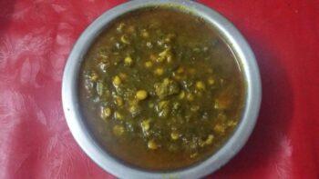 Hyderabadi Ambade Ki Katli (Red Sorrel Leaves And Bengal Gram Gravy) - Plattershare - Recipes, Food Stories And Food Enthusiasts