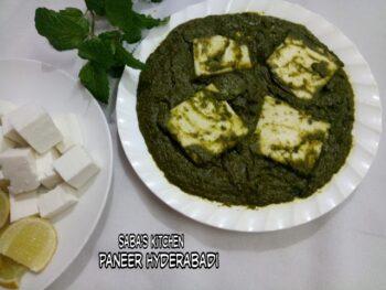 Paneer Hyderabadi - Plattershare - Recipes, Food Stories And Food Enthusiasts