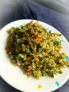 Quinoa Tabbouleh - Plattershare - Recipes, Food Stories And Food Enthusiasts