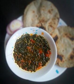 Amaranth Sabji (Chawli Ni Bhaji ) - Plattershare - Recipes, Food Stories And Food Enthusiasts