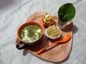 Malabar Spinach Soup - Plattershare - Recipes, Food Stories And Food Enthusiasts