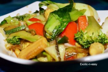 Stir Fry Exotic Veggies - Plattershare - Recipes, Food Stories And Food Enthusiasts