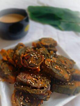 Gujarati Patra - Plattershare - Recipes, Food Stories And Food Enthusiasts
