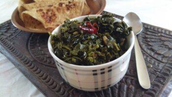 Nari Ka Saag - Plattershare - Recipes, Food Stories And Food Enthusiasts