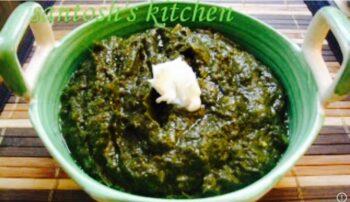 Sarso Ka Saag.... - Plattershare - Recipes, Food Stories And Food Enthusiasts