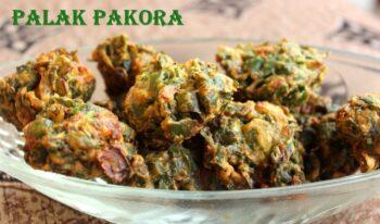 Palak Pakora - Plattershare - Recipes, Food Stories And Food Enthusiasts