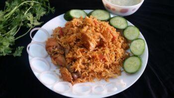 Methi Chicken Tahari (Hyderabadi Pulao With Fenugreek Leaves) - Plattershare - Recipes, Food Stories And Food Enthusiasts