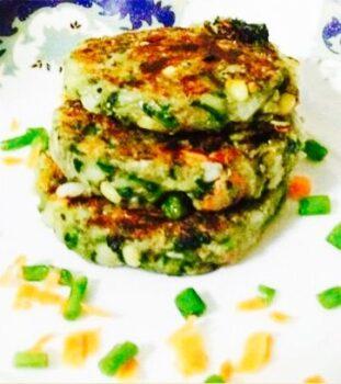 Palak Quinoa Kabab.... - Plattershare - Recipes, Food Stories And Food Enthusiasts