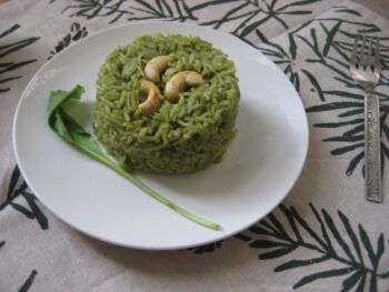 Palak Pulao - Plattershare - Recipes, Food Stories And Food Enthusiasts