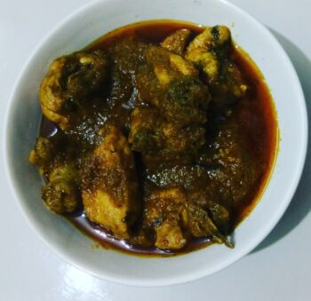 Coriander Chicken Curry - Plattershare - Recipes, Food Stories And Food Enthusiasts