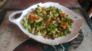 Sprout Cucumber Salad - Plattershare - Recipes, Food Stories And Food Enthusiasts