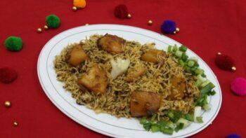 Aaloo Paalak Methi Pulao - Plattershare - Recipes, Food Stories And Food Enthusiasts