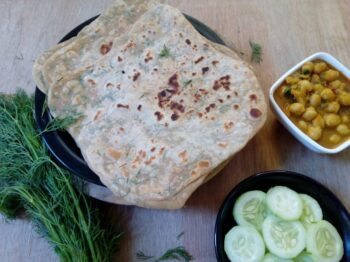 Dill Leaves Paratha - Plattershare - Recipes, Food Stories And Food Enthusiasts