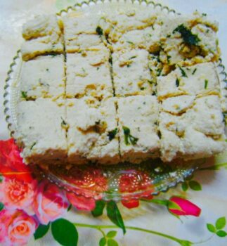 Home Made Tofu With Coriander Leaves - Plattershare - Recipes, Food Stories And Food Enthusiasts