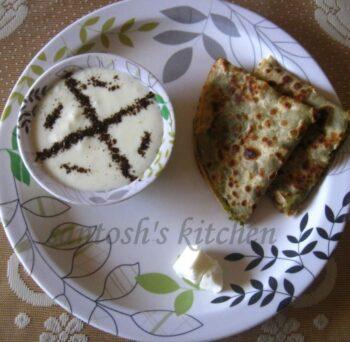 Bathua Pratha - Plattershare - Recipes, Food Stories And Food Enthusiasts