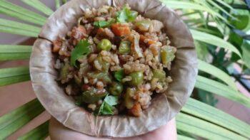 Rajmudi Rice Vegetable Pulav - Plattershare - Recipes, Food Stories And Food Enthusiasts