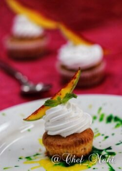 Raw Mango Cupcake - Plattershare - Recipes, Food Stories And Food Enthusiasts