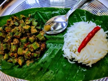Spicy Okra (Bhindi) - Plattershare - Recipes, Food Stories And Food Enthusiasts