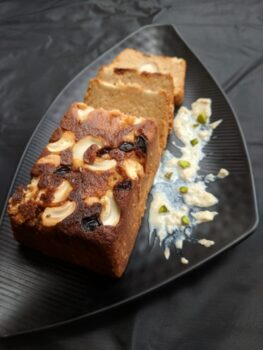 Baked Chaena Bread With Rabdi - Plattershare - Recipes, Food Stories And Food Enthusiasts