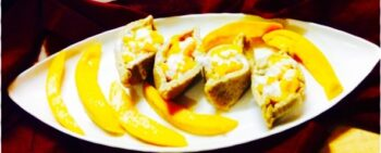 Mango Filled Paneer Boats.&Quot;....(Sandesh) - Plattershare - Recipes, Food Stories And Food Enthusiasts