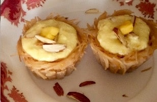 Rabdi Filled Saviya Cup - Plattershare - Recipes, Food Stories And Food Enthusiasts