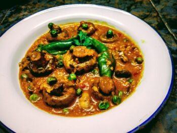 Mushroom Korma - Plattershare - Recipes, Food Stories And Food Enthusiasts