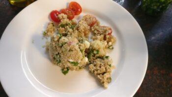 Mediterranean Quinoa Summer Salad - Plattershare - Recipes, Food Stories And Food Enthusiasts