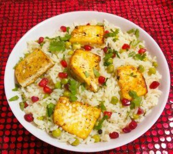 Matar Paneer Pulao - Peas Paneer Pulao - Plattershare - Recipes, Food Stories And Food Enthusiasts