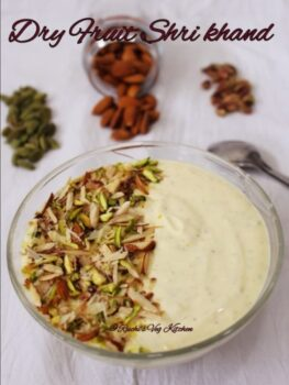 Dry Fruit Shrikhand - Plattershare - Recipes, Food Stories And Food Enthusiasts