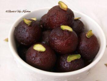 Kala Jamun - Plattershare - Recipes, Food Stories And Food Enthusiasts