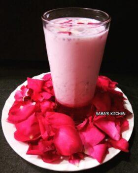 Rose Milk Falooda - Plattershare - Recipes, Food Stories And Food Enthusiasts
